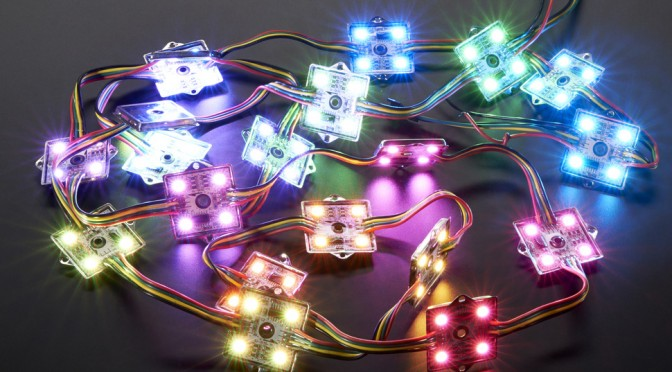 how to make your own christmas light with arduino